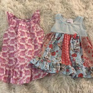 🍦4 for $12🍦Baby Girl Dress Bundle